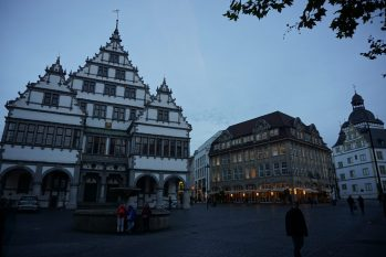 City center of Paderborn